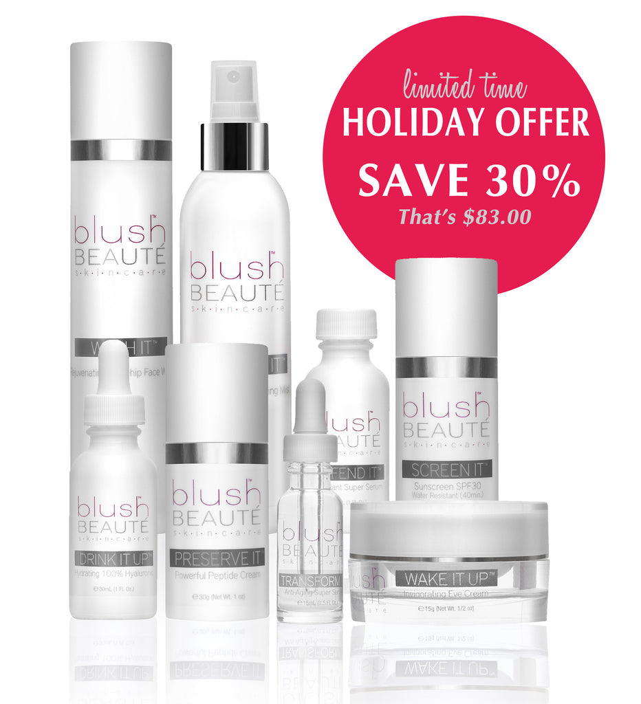 Limited Time Holiday Offer: Universal Complete Skincare Kit! Save 30% ($83.00)