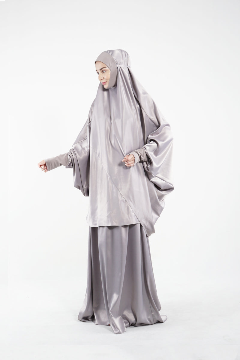 By Modest Mecca - Silver Telekung