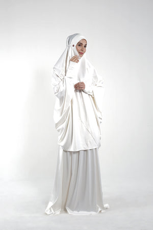 By Modest Mecca - Ivory Telekung