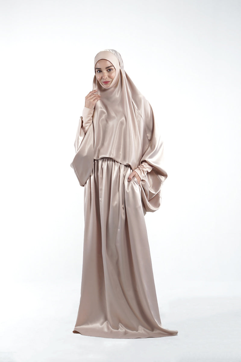 By Modest Mecca - Nude Telekung