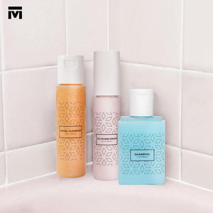 By Modest Mecca - Silver Telekung with toiletries