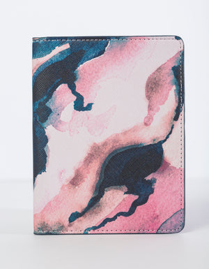 Travel Series: Pink Lakes Passport Holder