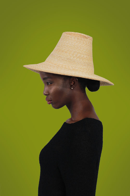 """Sugar Loaf"" Straw Wide Brim Sun Hat"