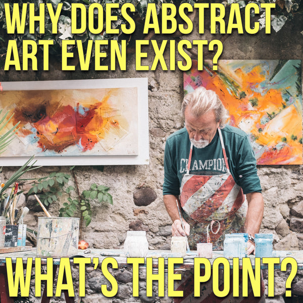 Why Abstract art exists by Stephen Lursen