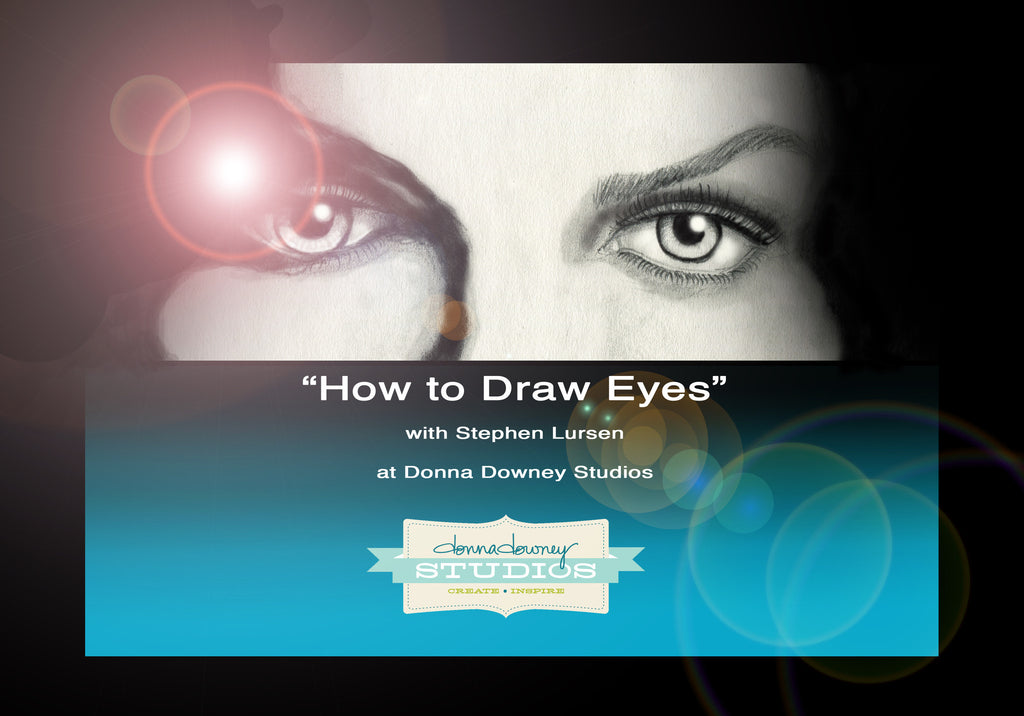 """How to Draw Eyes"" Video Series with Stephen Lursen (2013)"