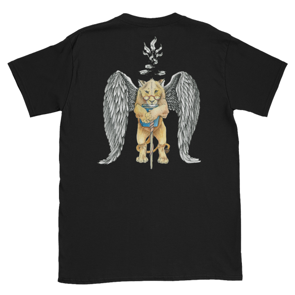 Unisex T-Shirt - Super Intelligent, Magical Librarian, Lioness Angel