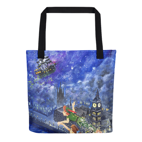 Tote bag - The Jolly Roger over London