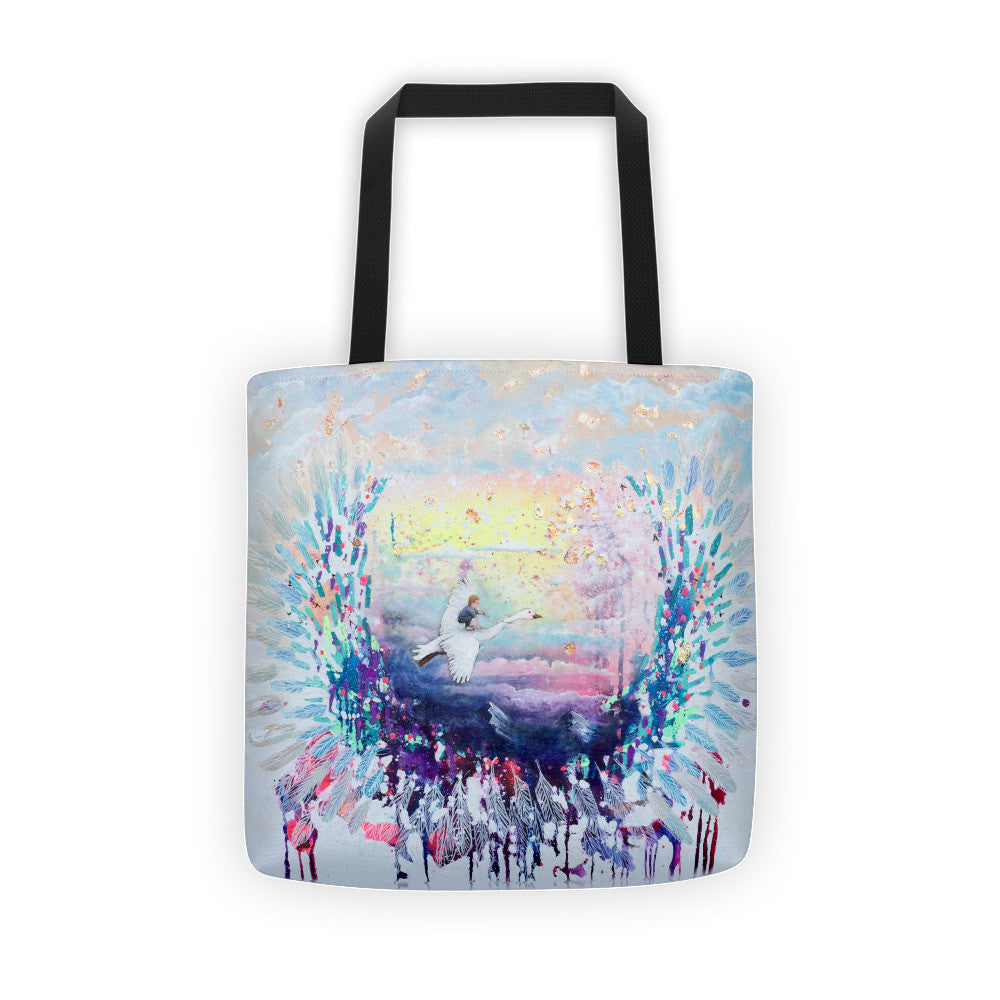 """Flying Lessons"" - Collectible Fine Art Tote Bag"