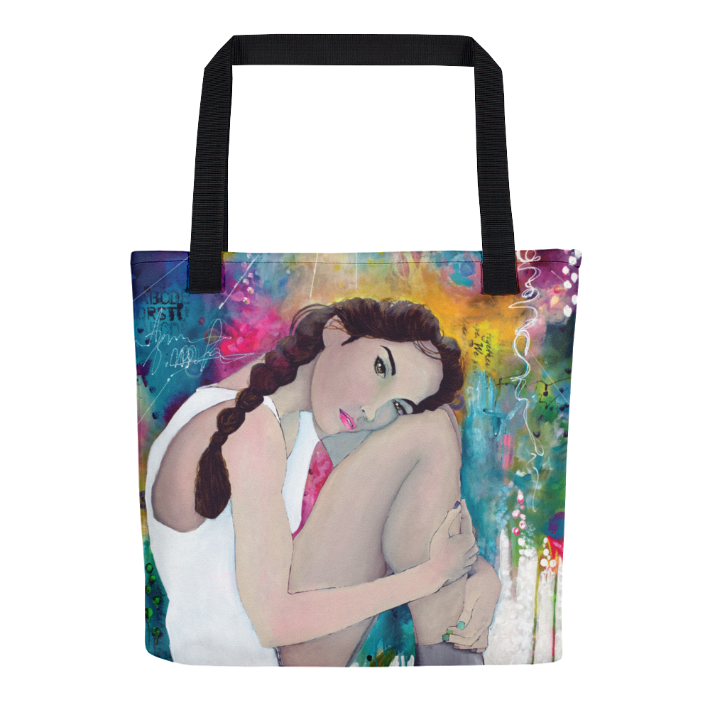 Tote bag - Glowing figure