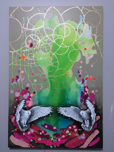 Wellspring of Dreams - Original Painting by Stephen Lursen