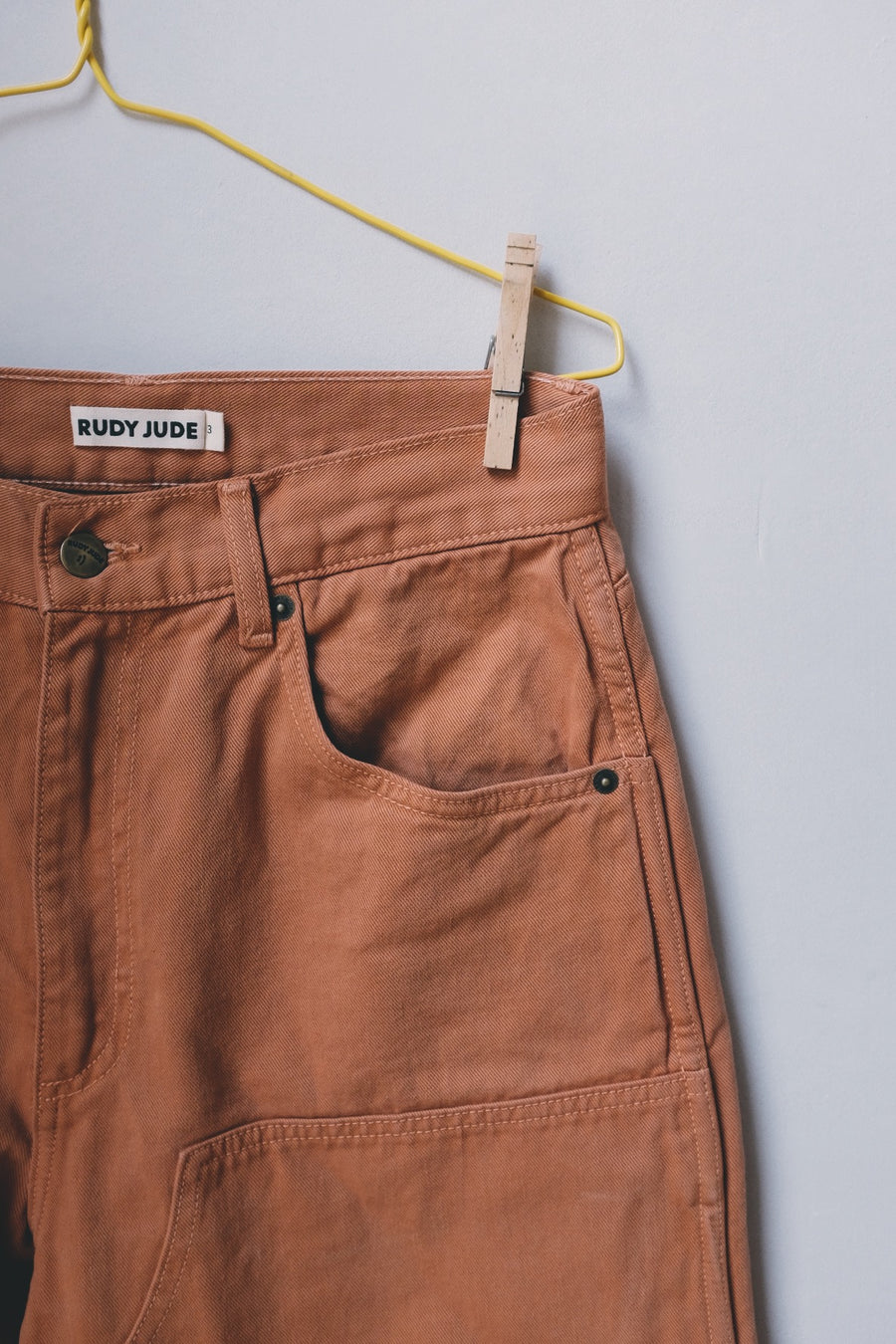 Toddler/Kid Utility Jean - Terra-Cotta