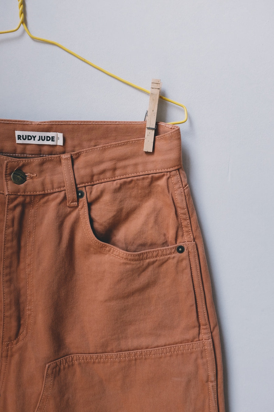Adult Utility Jeans - Terra-Cotta