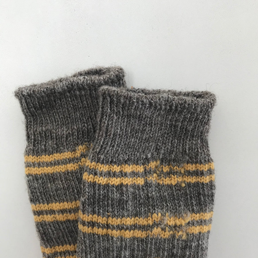 Buckwheat Blossom Farm Wool Socks