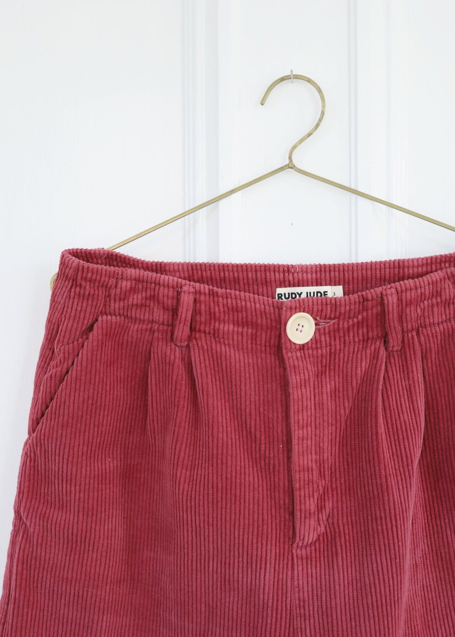Adult Sal Trouser In Wide Corduroy