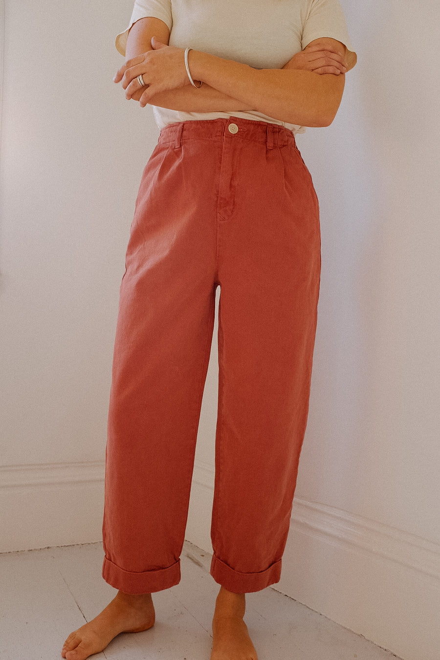 Adult Pleated Trouser