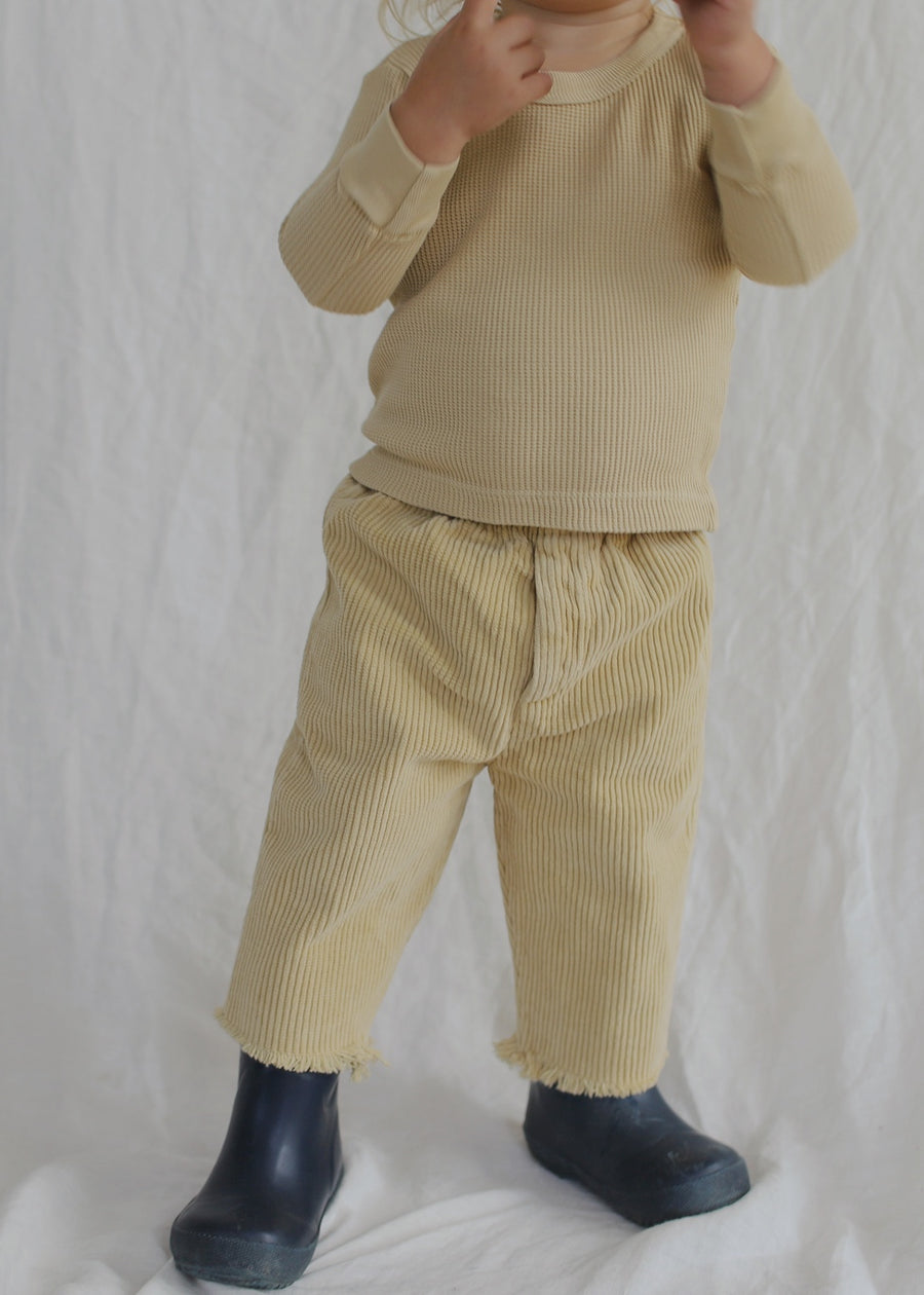 Baby Sal Trouser In Wide Corduroy