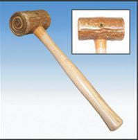 # 11 WEIGHTED RAWHIDE MALLET