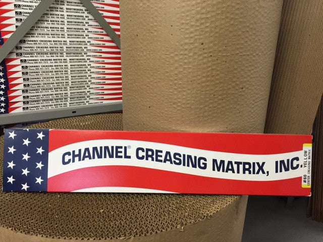 #90 RED CREASE MATRIX 48'/BOX