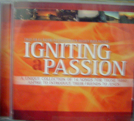 IGNITING A PASSION - CD
