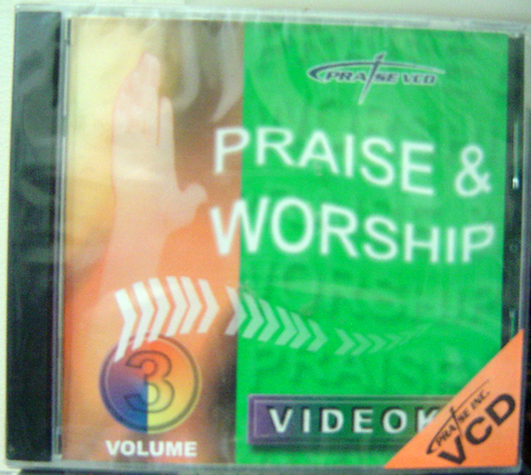 PRAISE AND WORSHIP VOL. 3 - VCD