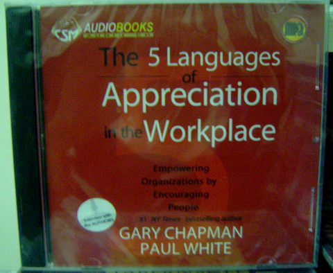 THE 5 LANGUAGES OF APPRECIATION IN THE WORKPLACE - Audiobook