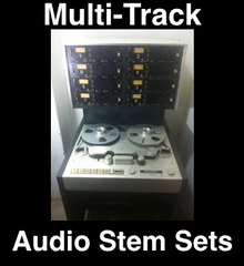 Multi Track Packages - Audio Stem Sets