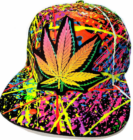 DOUBLE WEEDLEAF CAP BLACK