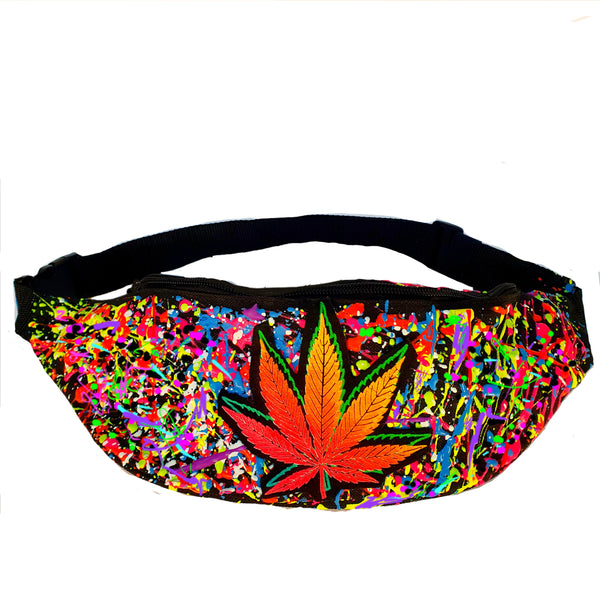 DOUBLE WEEDLEAF BUMBAG