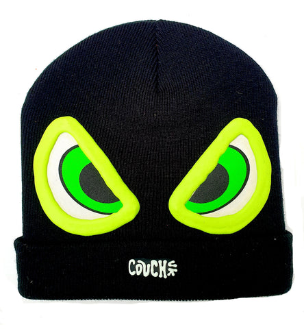 EVIL EYE BEANIE BLACK