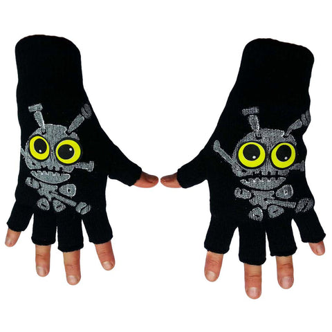 COUCHUK - UV REACTIVE - VOODOO DOLL GLOVES - Clubwear - PLUR - Rave clothing