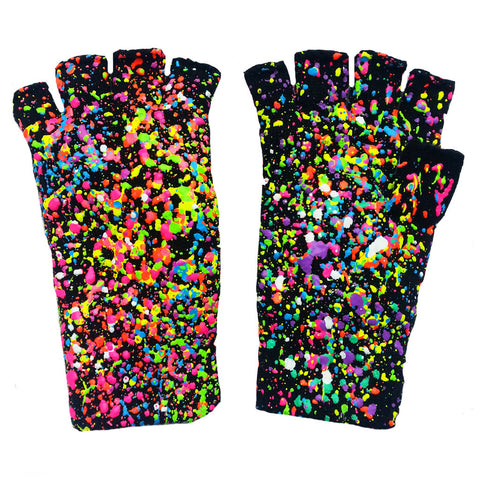 SPLAT GLOVES NEON MULTI