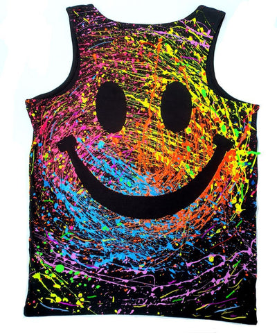 GRIN BEATER VEST BLACK