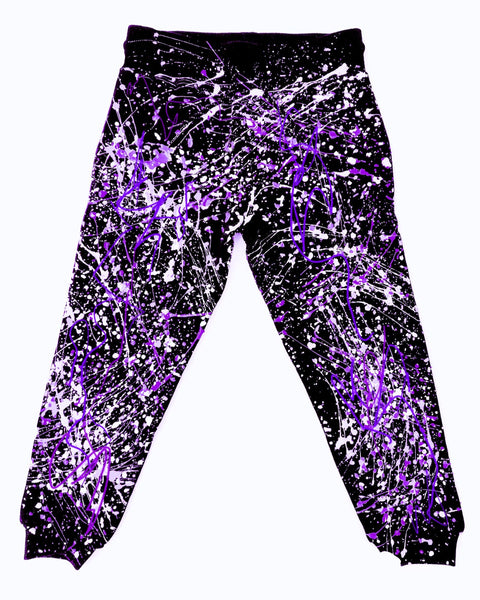 SPLASH TRACKIES PURPLE/WHITE