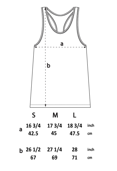MULTI SPLAT RACER BACK VEST