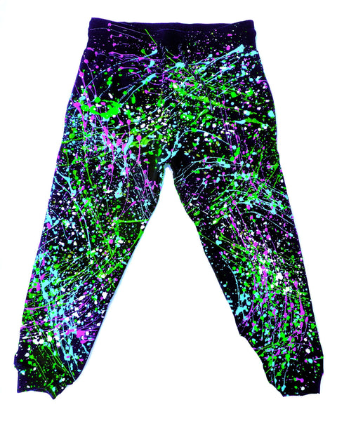 SPLASH TRACKIES PURPLE/WHITE/GREEN