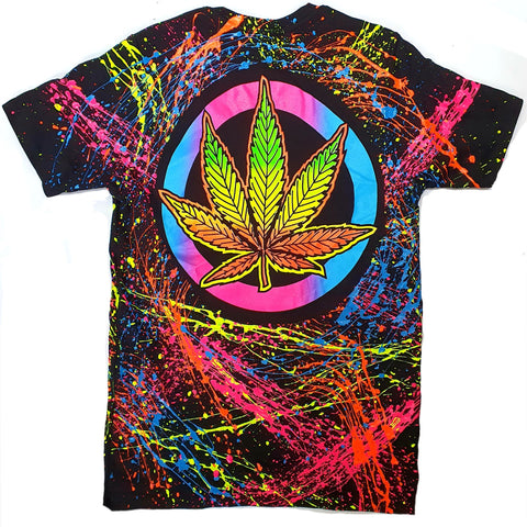 WEEDBADGE T-SHIRT BLACK