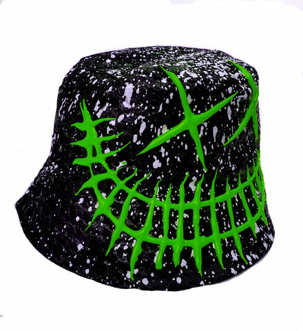EVIL G RAVE HAT - GREEN