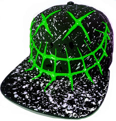EVIL G CAP BLACK/GREEN