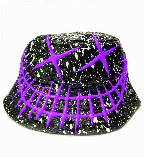 EVIL G RAVE HAT - PURPLE