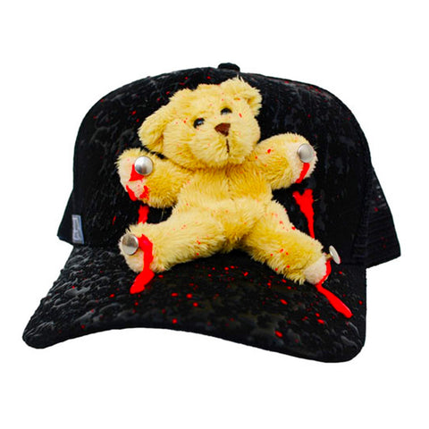 BEAR TRUCKER CAP BLACK