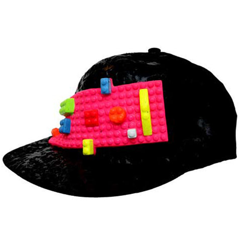 BLOCK CAP BLACK