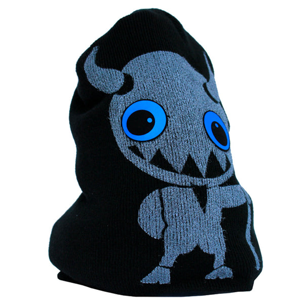 COUCHUK - UV REACTIVE - LITTLE TWISTED DEVIL BEANIE - Clubwear - PLUR - Rave clothing