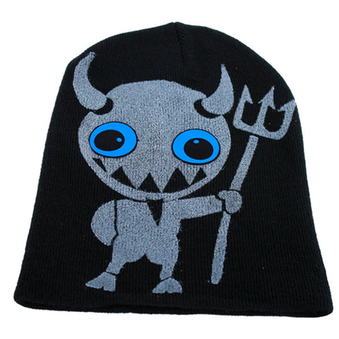 LITTLE TWISTED DEVIL BEANIE