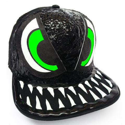 EVIL EYE CAP BLACK