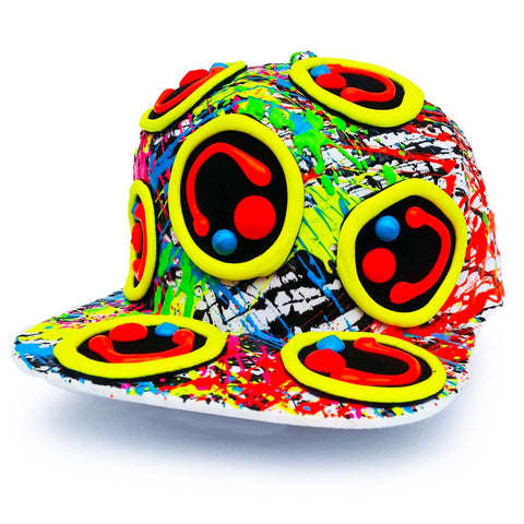 MULTI SQUIDGY CAP WHITE