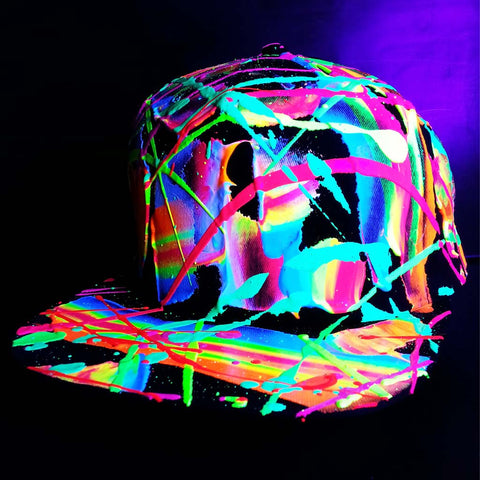 SCRAPE CAP BLACK MULTI