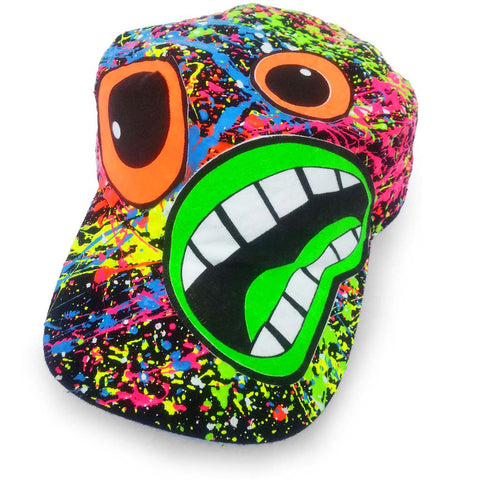 COUCHUK - UV REACTIVE - SCREAM ARMY CAP - Clubwear - PLUR - Rave clothing