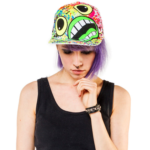 SCREAM CAP WHITE