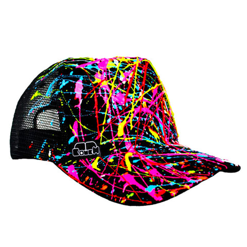 SPLASH TRUCKER CAP BLACK