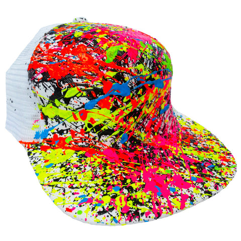 SPLASH TRUCKER CAP WHITE